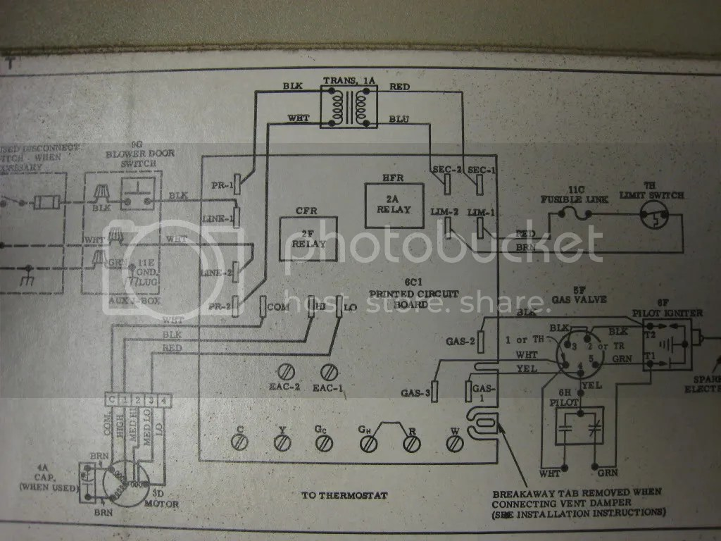 payne furnace wiring diagram thermostat free download box trailer lights bryant error code 14