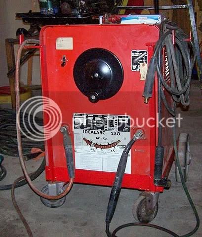 lincoln arc welder wiring diagram 2001 chevy blazer ls radio need some help on a idealarc 250