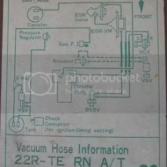 1987 Toyota Pickup Vacuum Line Diagram 1965 Mustang Wiring Diagrams Electrical Schematics 86 4runner 22r Te Forum Topic Some Interesting Info We Have Two Of Only 29 4runners In The Whole State Here Is A Picture His 87 California