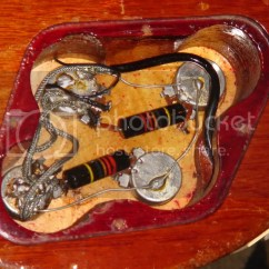 Vintage Les Paul Wiring Diagram Painless Harness What Are These Gibson Caps The Gear Page