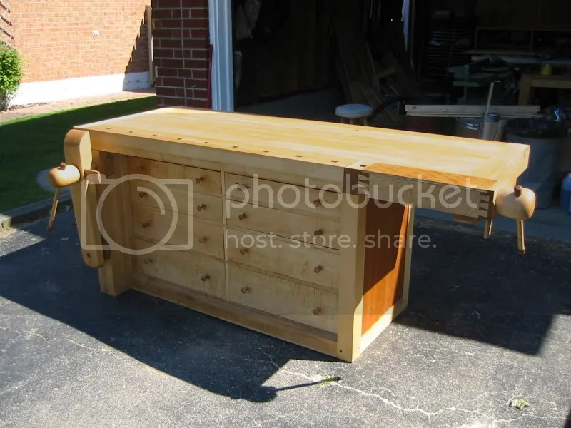 Timber Woodworking Bench