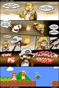 THIS IS MUSHROOM KINGDOM!