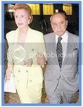 Casal Lily Marinho e Roberto Marinho