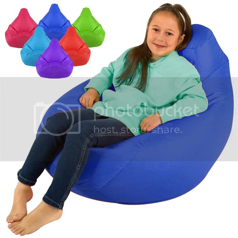 Childrens Tall Gamer Bedroom Bean Bags Beanbag Kids High