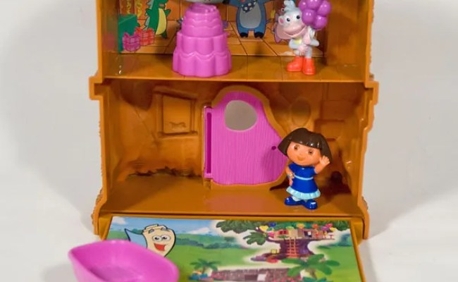Dora The Explorer Let S Go Adventure Treehouse Playset