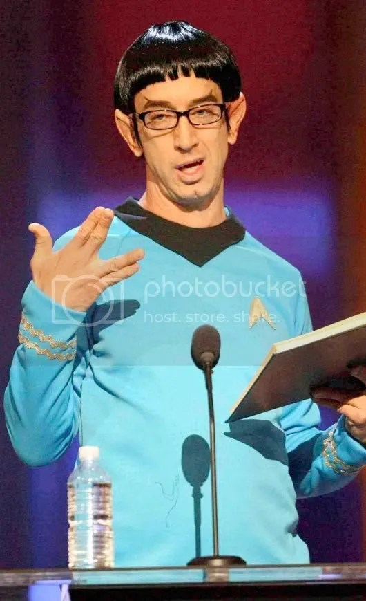 Andy Dick as Spock