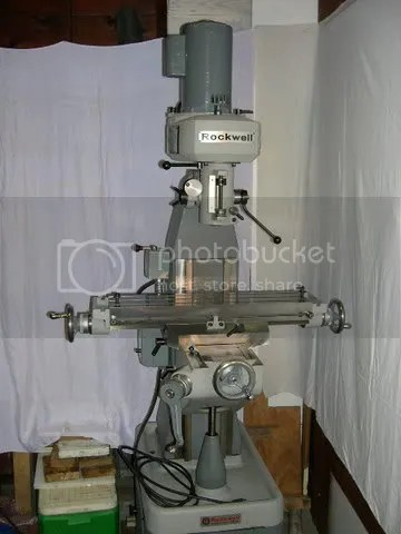 Rockwell Vertical Mill