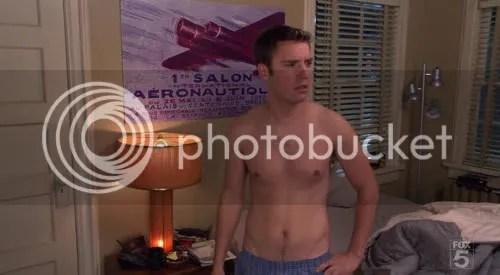 Bret Harrison Shirtless