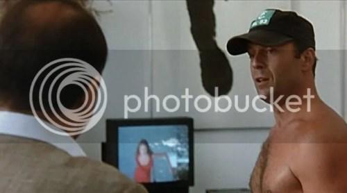 Bruce Willis Shirtless