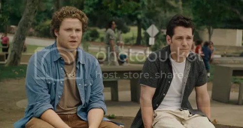 Seth Rogen and Paul Rudd in Knocked Up