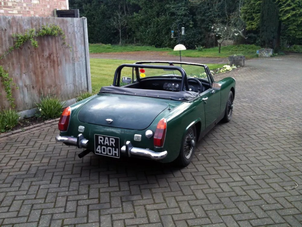 medium resolution of an mg midget