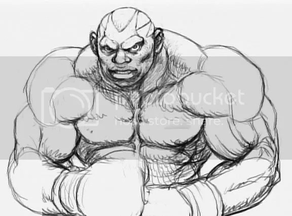 Street Fighter IV concept art — shoryuken