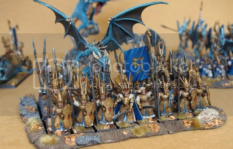 Multi Award Winning HIGH ELF ARMY Warhammer WFB HE Elves Caledor Dragon EBay