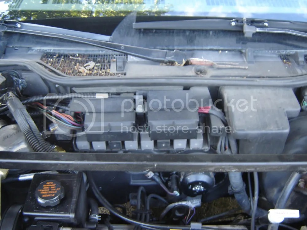 1994 Buick Regal Underhood2 Fuse Box Diagram