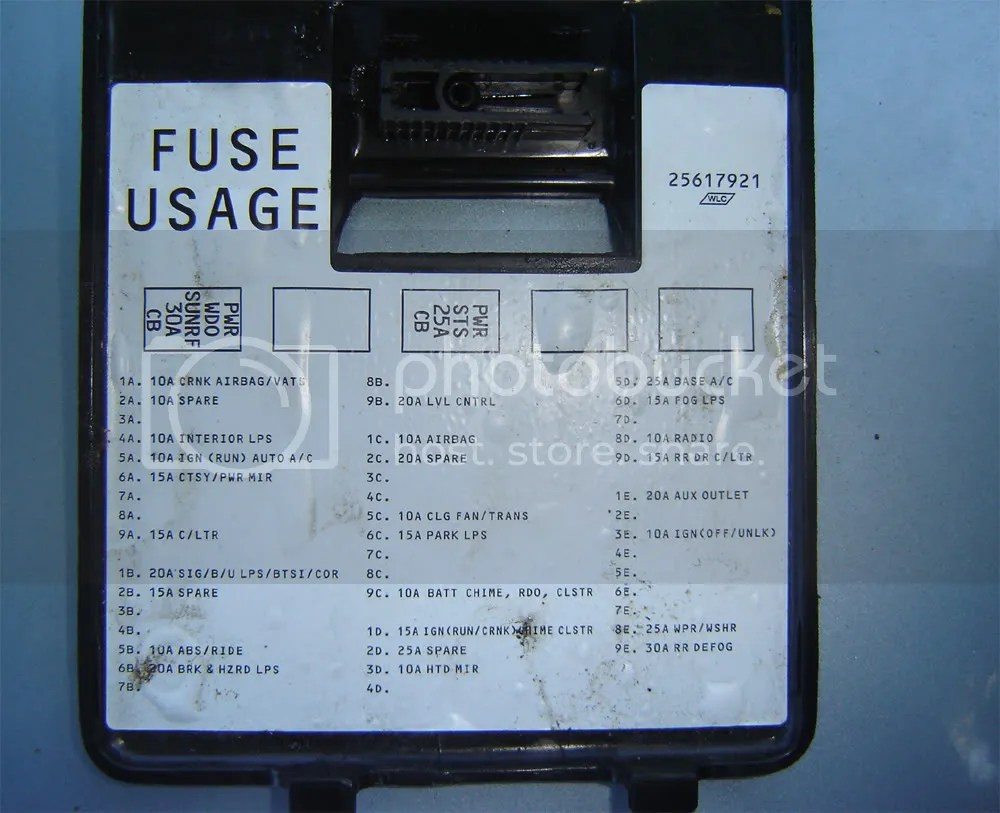 hight resolution of 1992 buick lesabre fuse diagram wiring diagram 1992 buick lesabre fuse box diagram