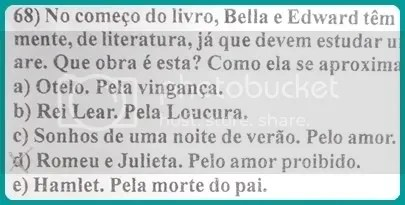 Simulado escolar new moon