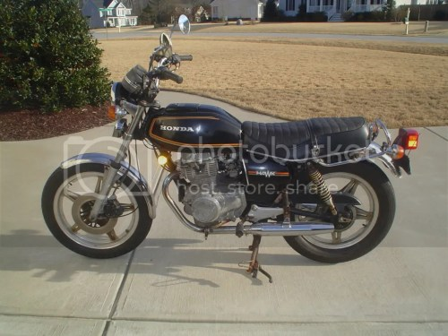 small resolution of 79 cb400tii honda hawk pictures images and photos