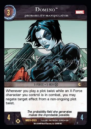 MEV,Domino,X-Force,X-Men,Character