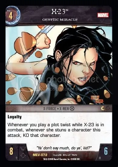 MEV,X-23,X-Force,X-Men,Character