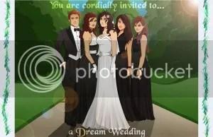 Dream Wedding Invite - Front