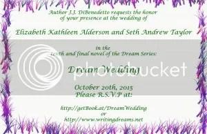 Dream Wedding Invite back