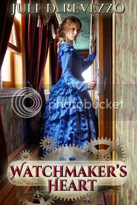 Watchmaker's Heart, Juli D. Revezzo, Victorian Romance, Steampunk, inventor, aromatherapy