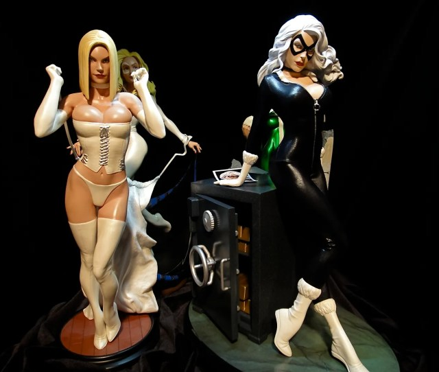 I Would Suggest Not Displaying The Black Cat Pf By The Emma Comi In Comparison Emma Makes Bc Look Like A Man In Drag Her Boobs Are Too Big Too
