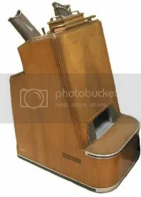 shoe-fitting fluoroscope full view