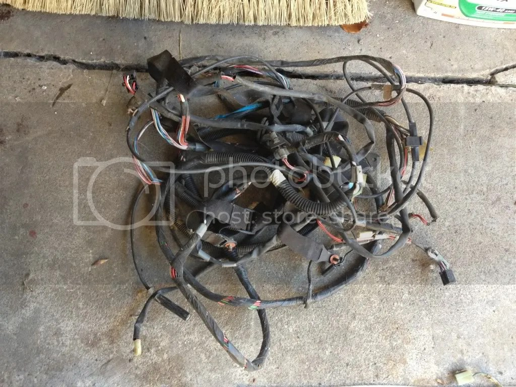 hight resolution of mr2 aw11 wiring loom not sure if complete