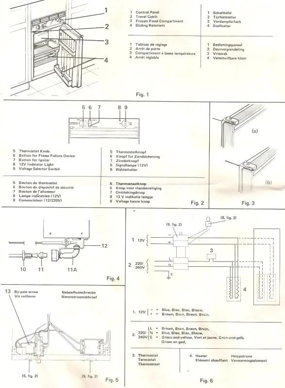Viscount Caravan Wiring Diagram Caravan Amp Appliance User Manuals Vintage Caravans