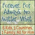 Forever, For Always, No Matter What