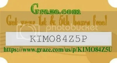 Graze Cupon 1st & 5th  freehttps://t.co/UseCCnPub0 photo 1 Graze code_zpslxcdj8oi.jpg