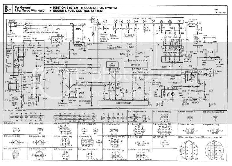 B6T WIRING DIAGRAM FOR REFERENCE