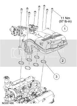 2007 Explorer 4.0 upper and lower intake gaskets