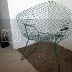 Bertoia Wire Chair Original Folding Jpg Harry Knoll Advertisement For The Authentic Diamond Designed By