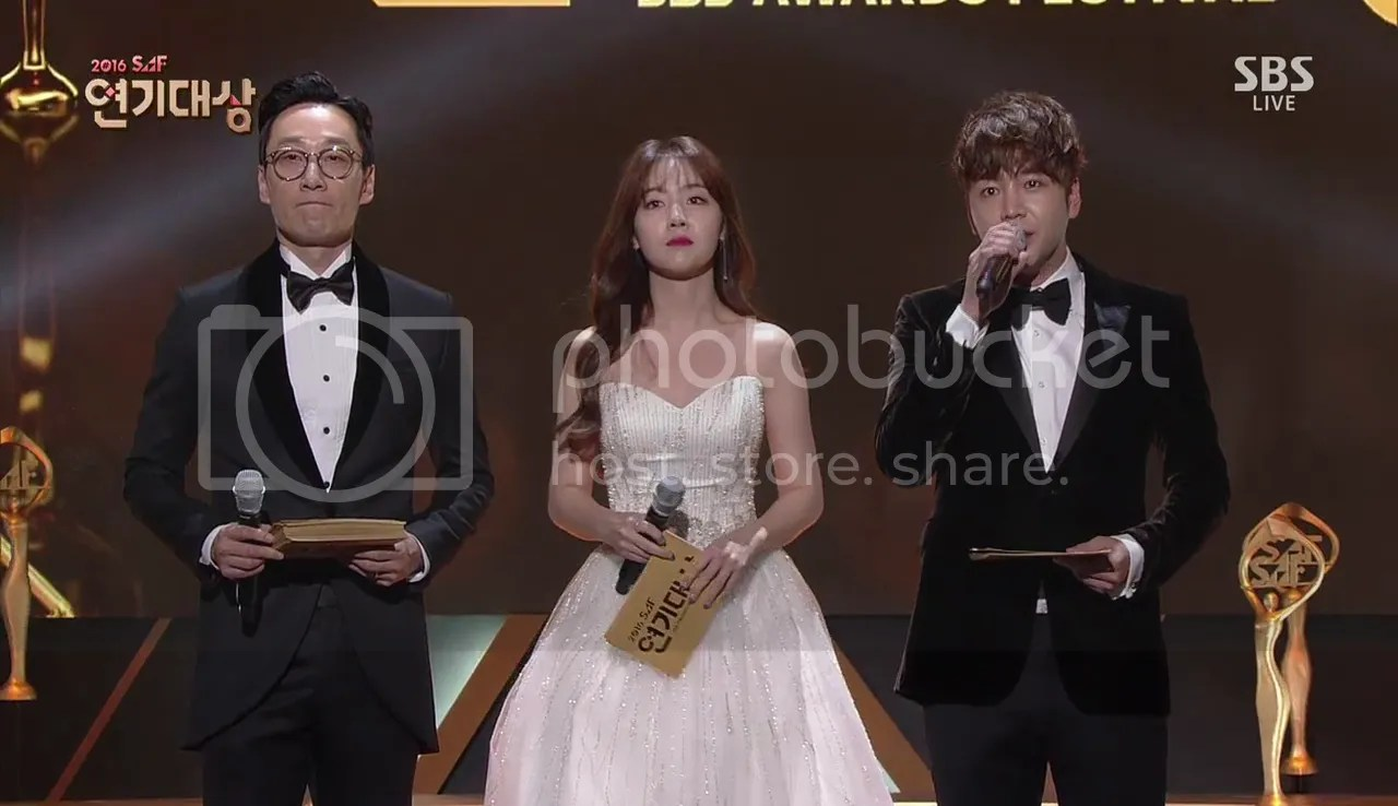 2016 SBS Drama Awards Recap and Translation | An Unstoppable Sun