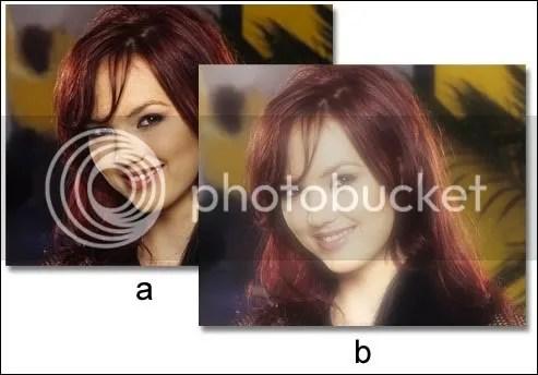 Gambar tutorial efek foto glamor 2