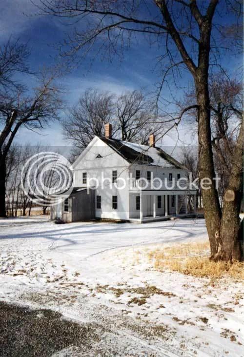 Minnesota farmhouse