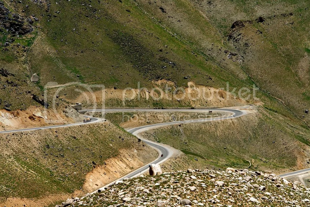 Mazar-Kabul road