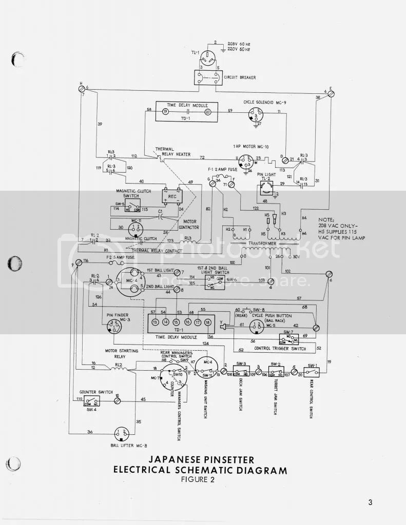 medium resolution of  this can be verified by looking at the schematic for the japanese machine which clearly