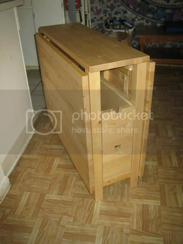 Ikea Fold Out Table And Drawers Photo By Jamiliya13