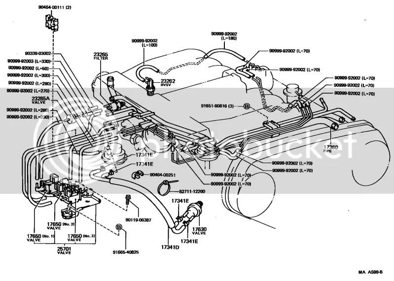 Coolant Temp Sensor On 1994 Toyota Pickup Blower Motor