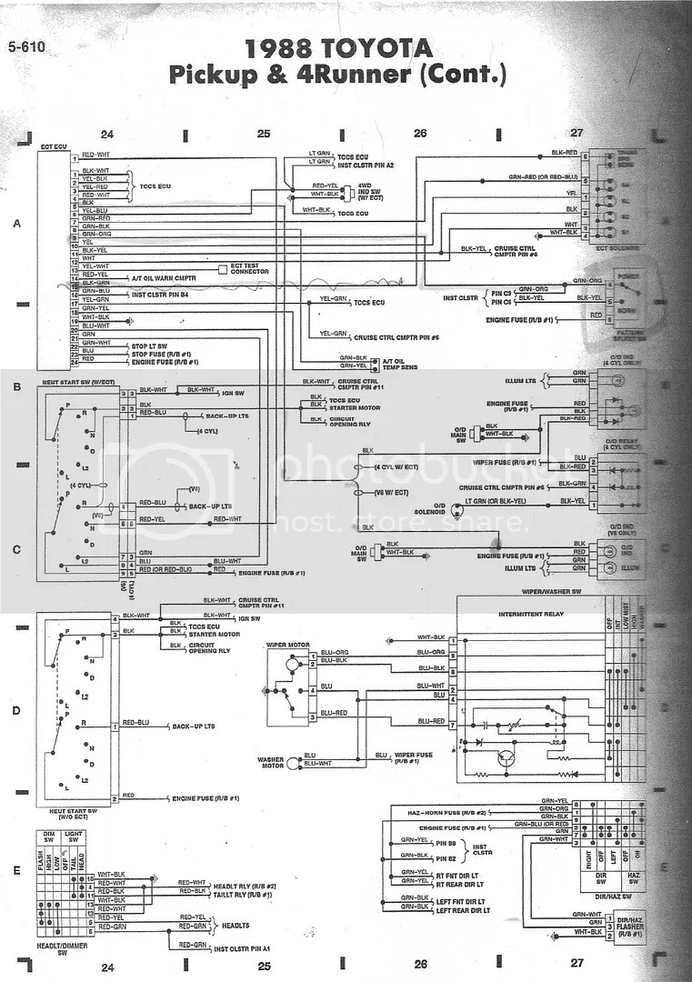 hight resolution of  88 3vze 5 speed wiring diagram help yotatech forums