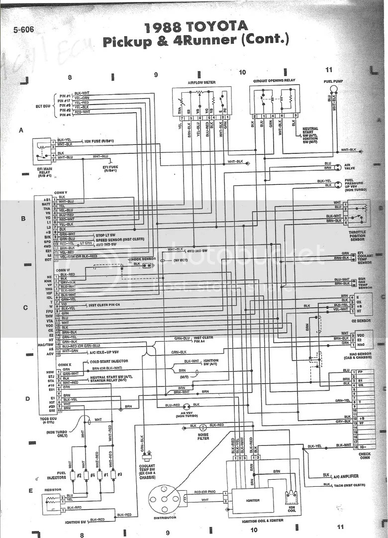 medium resolution of 1987 toyota 4runner wiring diagram wiring diagram blog 1987 toyota 4runner wiring diagram