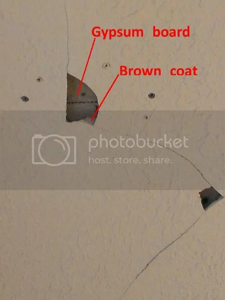 Cracked plaster ceiling fix  DoItYourselfcom Community