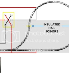 reverse loop wiring with sub mini toggle switches model railroader rh cs trains com model railroad switch wiring n scale model train wiring [ 1000 x 802 Pixel ]