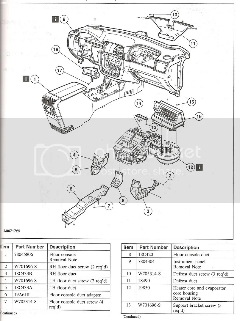 Diagram Further 2000 Ford Expedition Heater Core Diagram