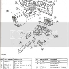 2006 Ford Escape Door Ajar Wiring Diagram 6 Pin Cdi Box How To Cold Air In Glove Or No Flow From Vents On Max Img