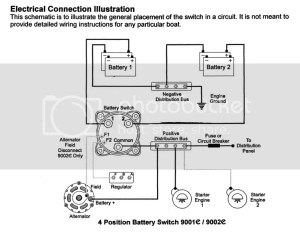 wiring diagram for dual batteries  The Hull Truth