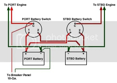 Wiring Diagram For Dual Batteries The Hull Truth Boating And